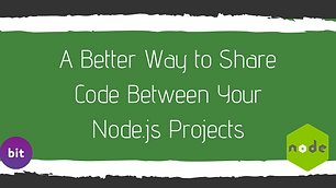 A Better Way to Share Code Between Your Node.js Projects