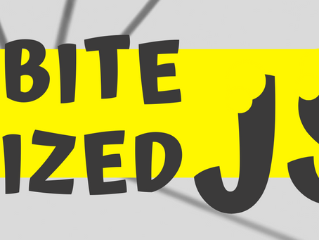 New book series: Bite Sized JavaScript