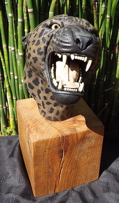 Jaguar Bust (painted)
