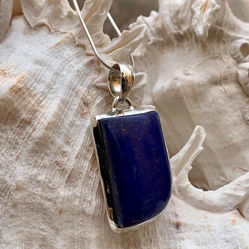 Lapis Lazuli Freeform Pendant
