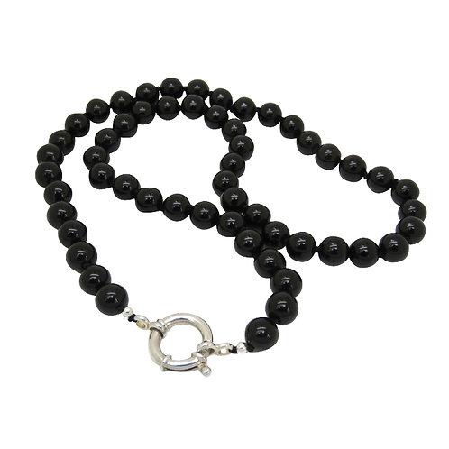 Onyx Black Necklace