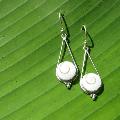 Shiva Triangle Earrings