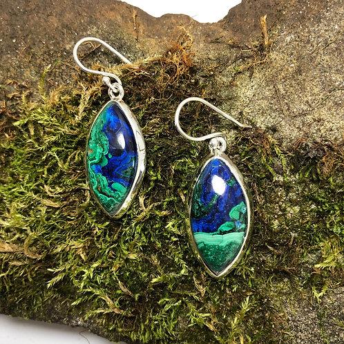 Chrysocolla Malachite Nanette Earrings