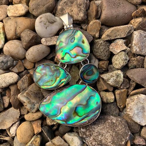 Abalone 4-piece Pendant