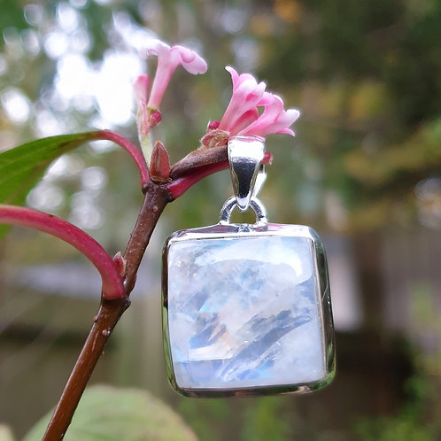 Moonstone Square Pendant