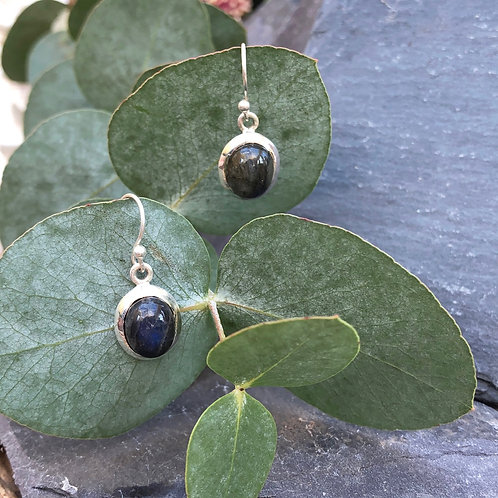 Labradorite Small Earrings