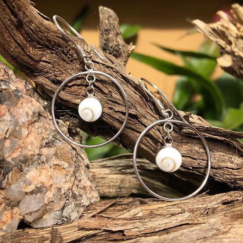 Shiva Circle Earrings