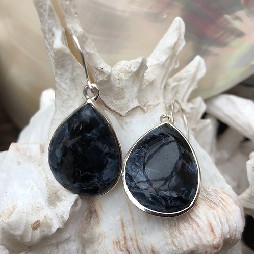 Pietersite Teardrop Earrings