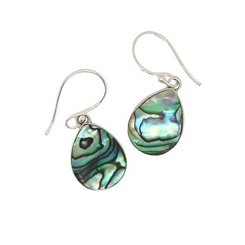 Abalone Reversible Teardrop Earrings