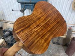 Fiddle back blackwood