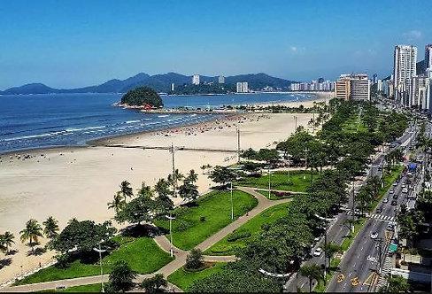 TOUR DE PLAYA - Santos, São Vicente y Guarujá