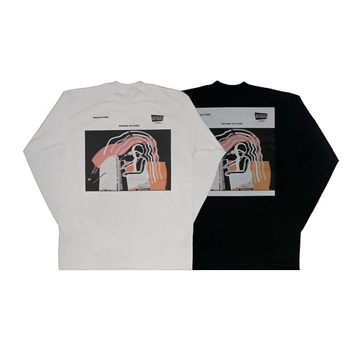 ARCHIVE L/S T-SHIRT NOTHING TO LIVING