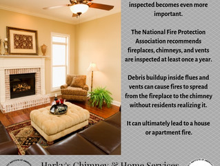 As winter drags on fireplace inspections are even more important