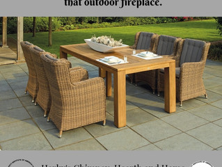 Planning an outdoor fireplace or repairing the one you love, Harky's has you covered
