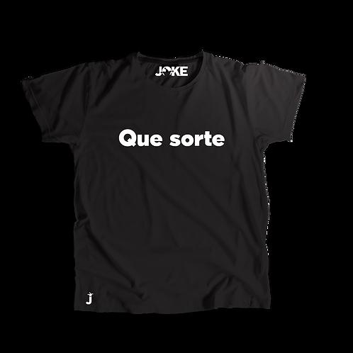"Camisa ""Que sorte"""