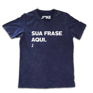 Camisa Azul Marmorizada