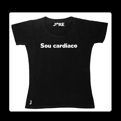 "Camisa ""Sou cardíaco"""