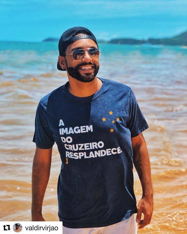 Aquela camisa do Cruzeiro que vc respeit