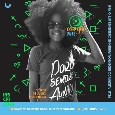 Movimento Auxilia lança Acampamento Corujão 2018 nas plataformas sociais
