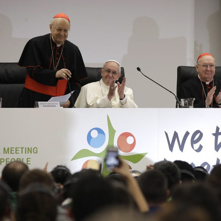 """""""Nunca nos devemos assustar com os jovens, nunca!"""", ensina Papa Francisco"""