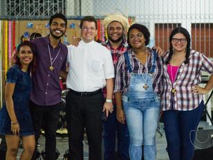 Movimento Auxilia acolhe Pe. Anderson Gomes, novo assistente eclesiástico do Setor Juventude da Arqu