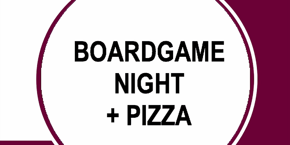 Boardgame Night + Pizza