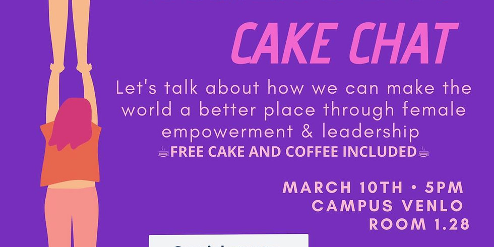 International Women's Day Cake Chat