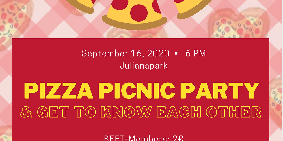 Picnic Pizza Party