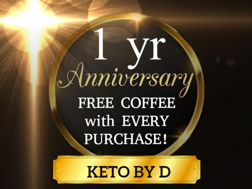 Happy Birthday to Us - Free Coffee for U!