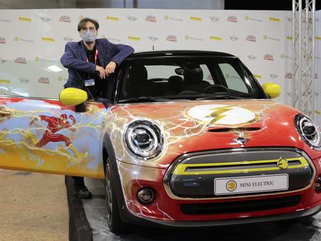 MINI Electric celebra 80 anni di Flash in occasione di Lucca Changes 2020
