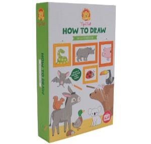 איך לצייר חיות