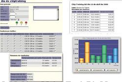 Chiptraining interface