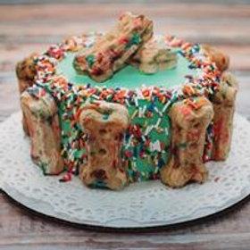 Waffle Birthday Cake