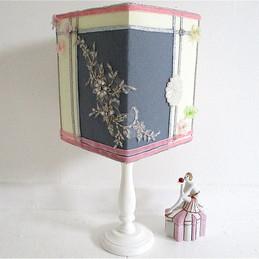 boudoir decorated lampshade.