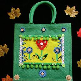 boho bag, cute childrens bag, heart bag,
