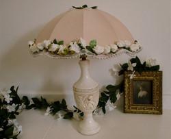 Bespoke, hand decorated lamp shade.jpg
