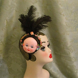 Burlesque Showgirl Feathered Headpiece