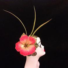 floral hair fascinator