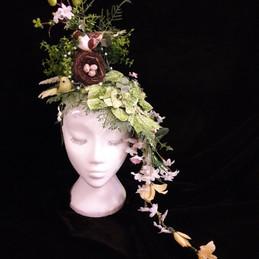 fantasy garden head piece
