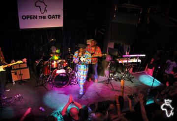 Open The Gate @ Jazz Cafe ft. Macka B