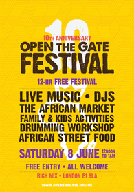 Open The Gate Festival • 10th Anniversary