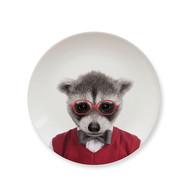 動物餐盤7吋
