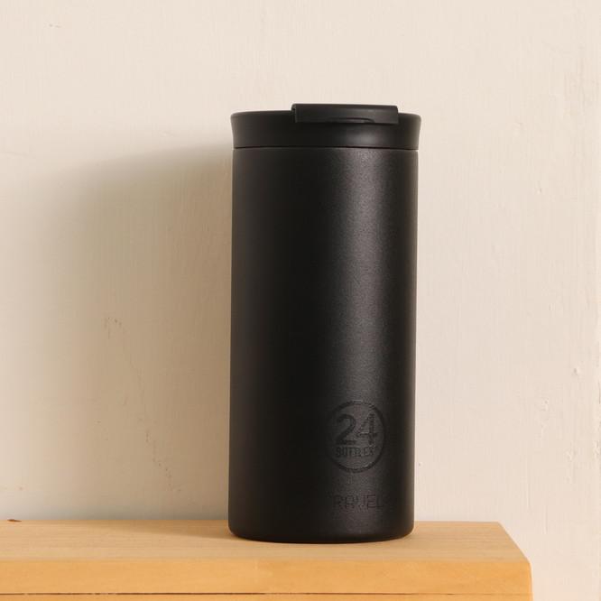 義大利24Bottles保溫隨行杯 600ml_黑色磨砂面.jpg