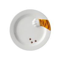 虎斑貓偷食