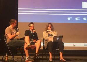 Sam Presents Historical Transgender Representations in Media onboard Pride of the Ocean 2018