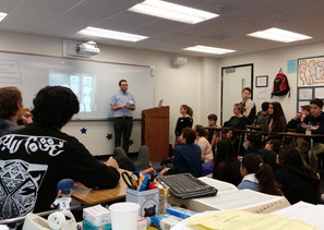Sam Speaks at The Viewpoint School's Diversity & Leadership Day