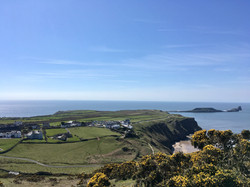 Rhossili and Worm's Head