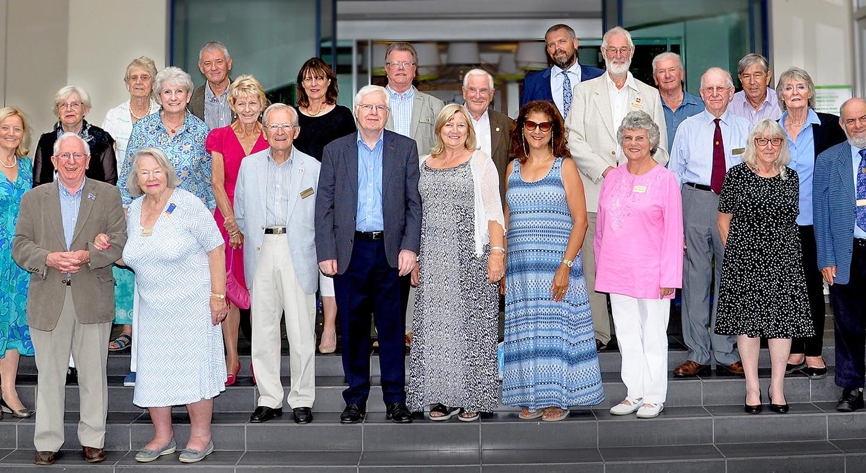Rotary in Shepperton members