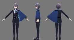 3Dモデル(九頭龍)001