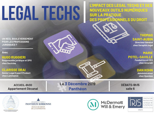 Conférence Legal Techs